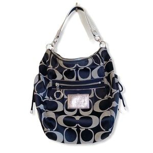 Coach Poppy Signature Sateen Jazzy hobo bag